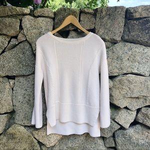 Rag & Bone | Cream Merino Wool Pullover Sweater
